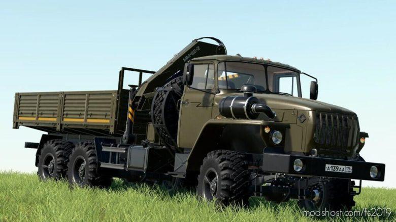 Ural 4320-60 Loader Crane V1.0.1.0 for Farming Simulator 19