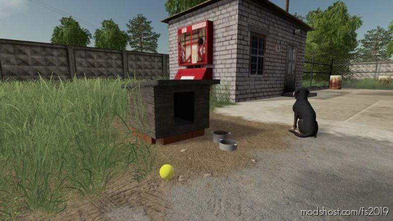 Russian DOG House for Farming Simulator 19