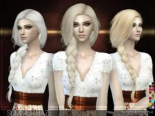 Stealthic – Summer Haze (Female Hair) for The Sims 4