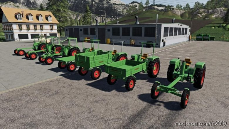 Fendt 250 GT for Farming Simulator 19