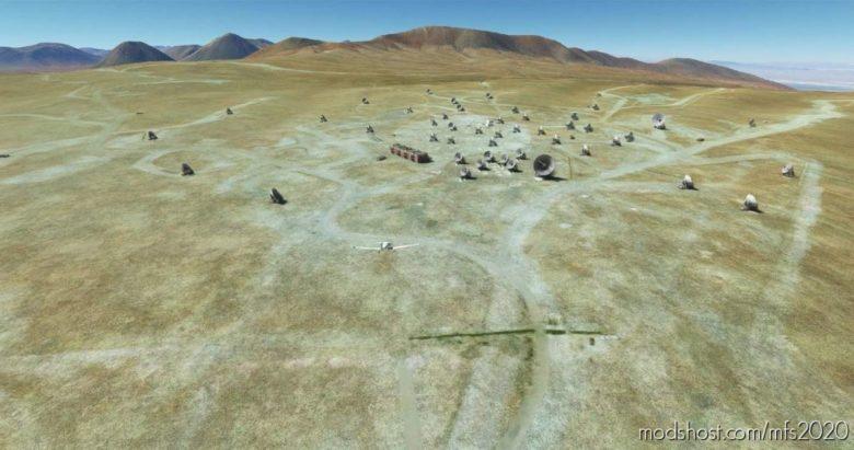 Alma Atacama Large Millimeter Array Radiotelescope V0.1 for Microsoft Flight Simulator 2020