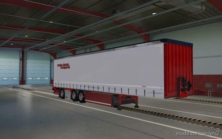 Plane Stabler Trailer [1.39] for Euro Truck Simulator 2