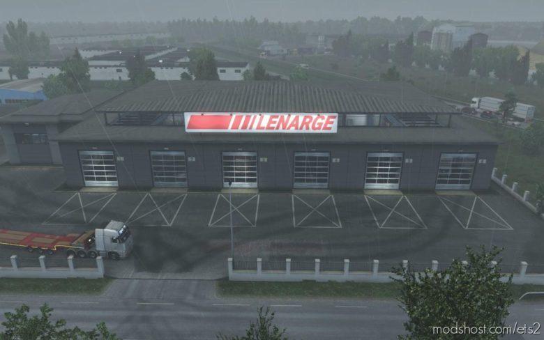 Garage Lenarge [1.39] for Euro Truck Simulator 2