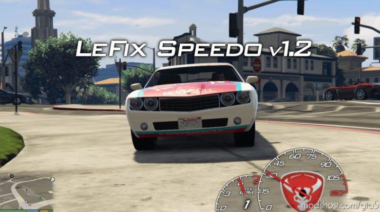 Lefix Speedometer 1.3.7 for Grand Theft Auto V