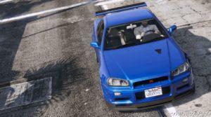 Nissan Skyline GT-R for Grand Theft Auto V