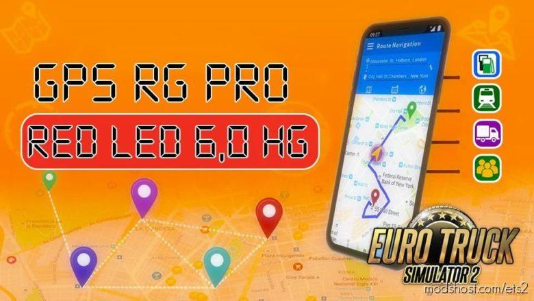 GPS RG PRO RED LED HG V6.0 for Euro Truck Simulator 2