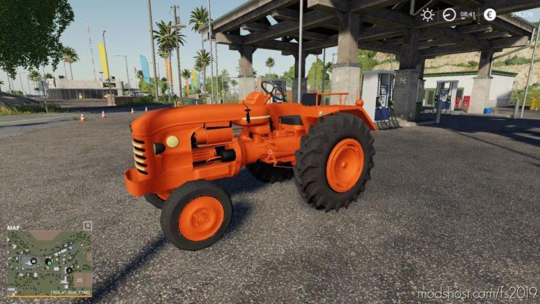 Renault D22 V1.1 for Farming Simulator 19