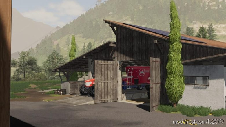 Alpine COW Barn for Farming Simulator 19