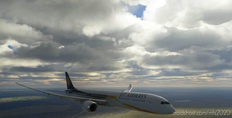 (8K) JET Airways Boeing 787-10 for Microsoft Flight Simulator 2020