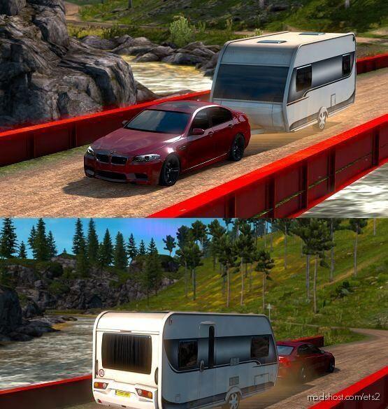 BMW M5 F10 V5 [1.39] for Euro Truck Simulator 2