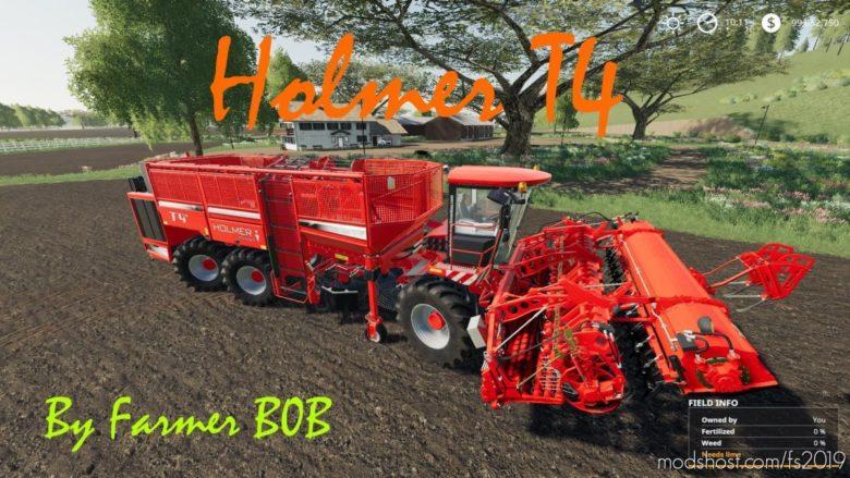Holmer Terra DOS T4 V002 for Farming Simulator 19