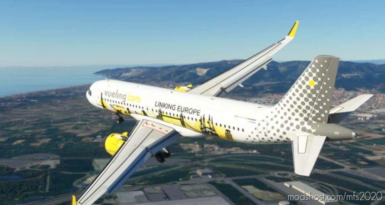 Vueling Airlines (Linking Europe) Ec-Lvp [8K] for Microsoft Flight Simulator 2020