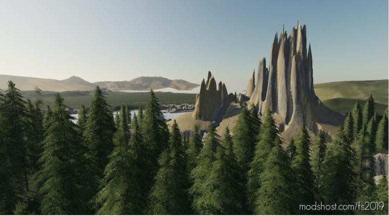 Tower Rock for Farming Simulator 19