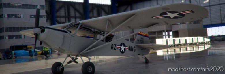 Arizona AIR National Guard L-4 Piper CUB for Microsoft Flight Simulator 2020