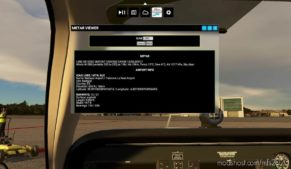 Metar Viewer V1.1 for Microsoft Flight Simulator 2020