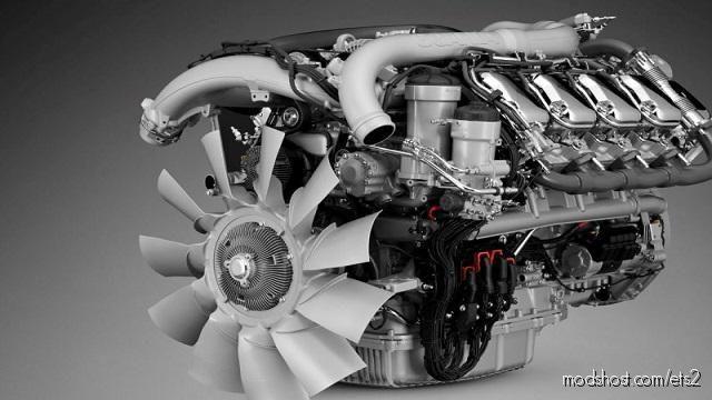 Scania NG V8 Stock Sound for Euro Truck Simulator 2