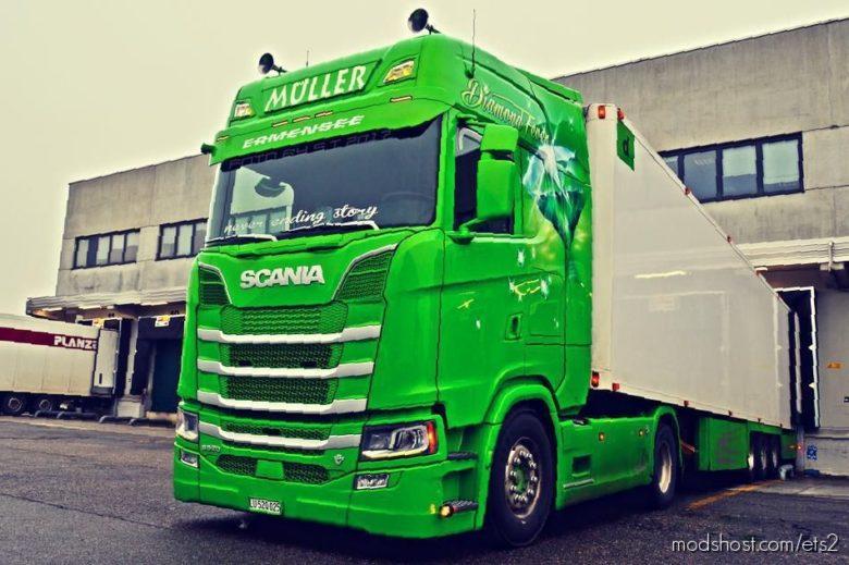 Scania V8 Newgen Sound [1.39] for Euro Truck Simulator 2