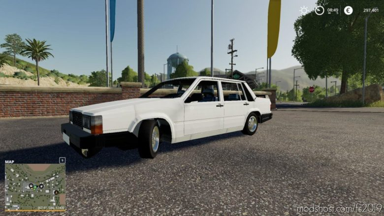 Volvo 740 for Farming Simulator 19