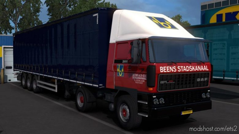 Beens & ZN. B.V. Stadskanaal For DAF F241 for Euro Truck Simulator 2