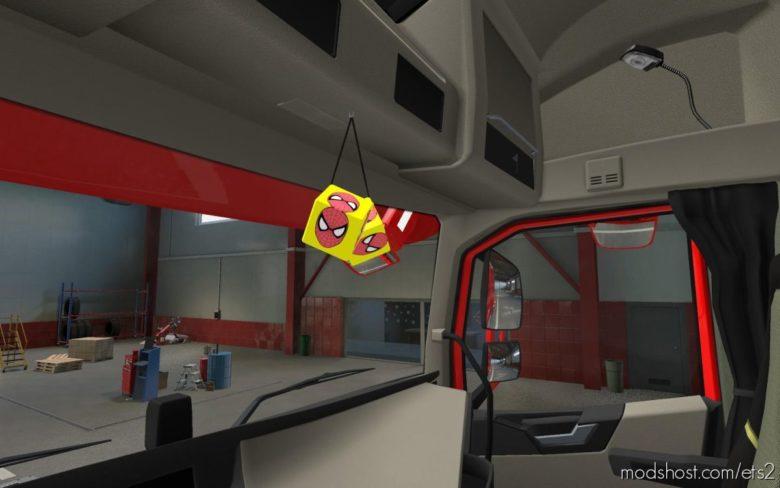 Cube Spider-Man [1.39] for Euro Truck Simulator 2