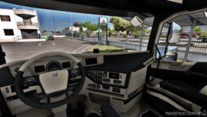 Volvo FH16 2012 Beige – Dark Grey Interior [1.39] for Euro Truck Simulator 2