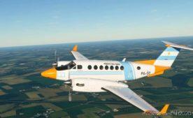 Prefectura Naval Argentina King AIR 350 (Fictional) for Microsoft Flight Simulator 2020