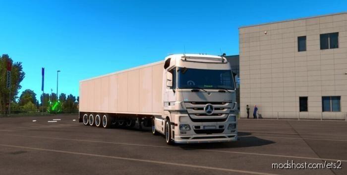 Line In Whell / Yanak Modu [1.39] for Euro Truck Simulator 2