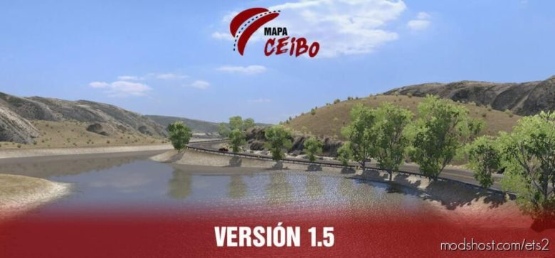 Argentina Map Mod Map Ceibo V1.5 1.39 for Euro Truck Simulator 2