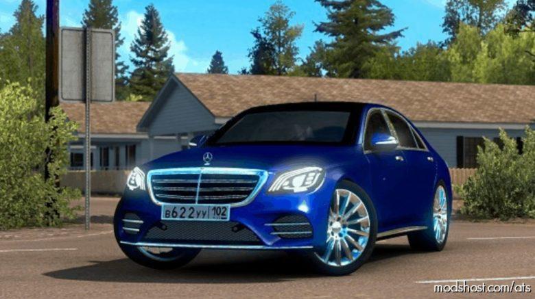Mercedes-Benz S400D V3 [1.39] for American Truck Simulator
