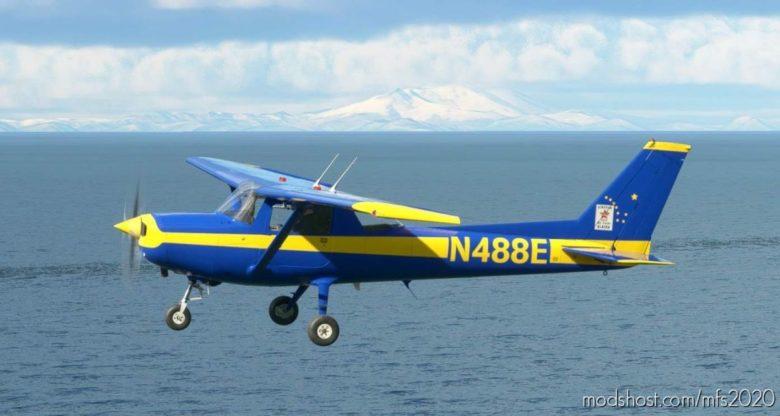 Cessna 152 Kingdom AIR Corps Alaska N488E for Microsoft Flight Simulator 2020