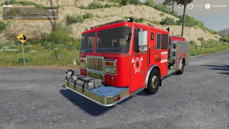 Seagraves Fire Engine for Farming Simulator 19