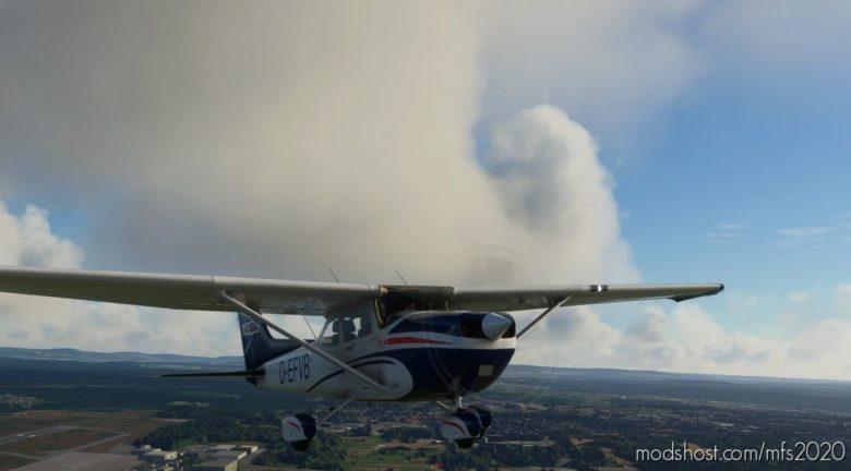 Cessna 172 Classic/As1000 Livery – Fln_D-Efvb for Microsoft Flight Simulator 2020