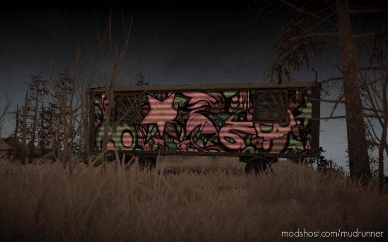 """Trailer """"Cyberpunk"""" (Stock) for MudRunner"""