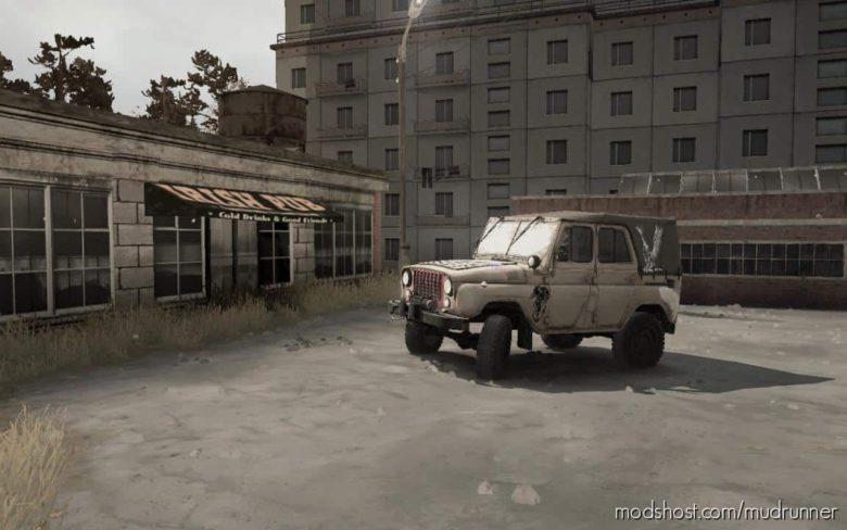 "UAZ-469 ""Angelic"" for MudRunner"