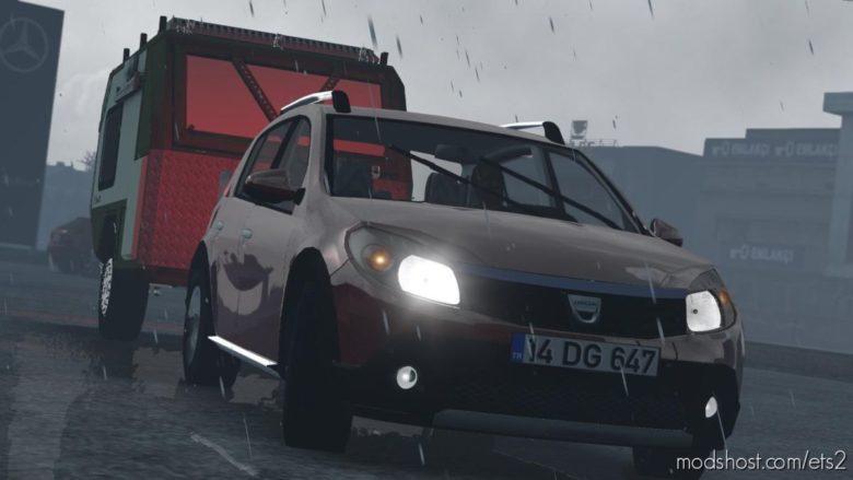 Dacia Sandero V1R50 [1.39] for Euro Truck Simulator 2