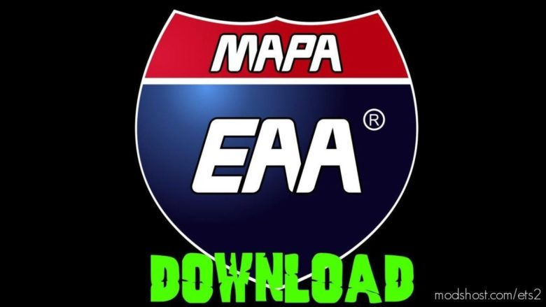 Mapa EAA V6.0 [1.39.X] for Euro Truck Simulator 2