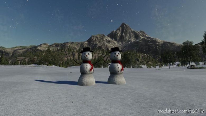 Snowman for Farming Simulator 19