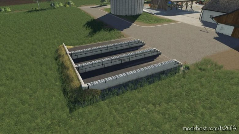 Refurbished Bunker Silo for Farming Simulator 19