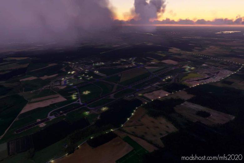 Ebfs – Florennes Airport for Microsoft Flight Simulator 2020