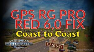 GPS RG PRO RED FIX Coast To Coast V6.0 for American Truck Simulator