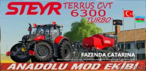 Anadolu Sahin 872 V1.1 for Farming Simulator 19