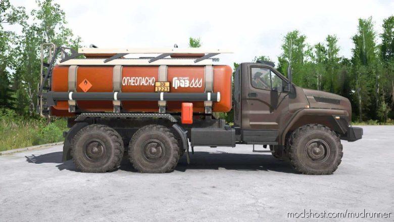 Ural-4320-6951-74 Truck for MudRunner