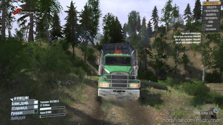 Freightliner M916A1 Truck V1.1 for MudRunner