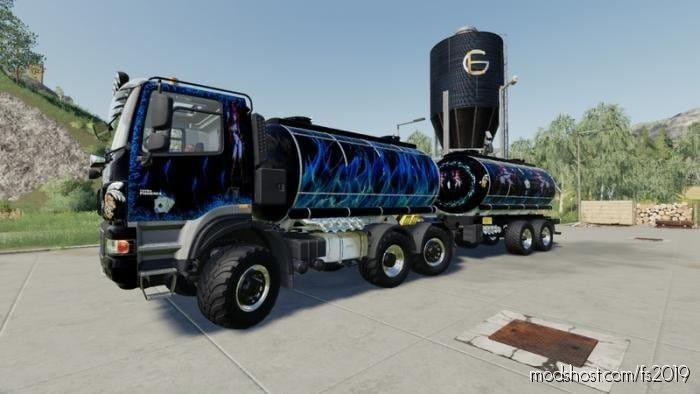 Phoenix Agro Tank Truck for Farming Simulator 19