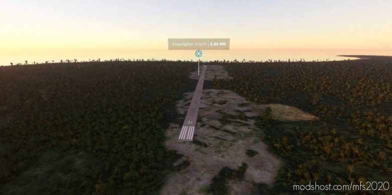 Fsas – Assumption Island – Seychelles V0.1.0 for Microsoft Flight Simulator 2020