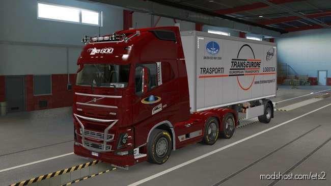 CARGO TRAILER TRANSEUROPE V1.0 for Euro Truck Simulator 2