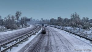 Frosty Winter Weather V8.0 for Euro Truck Simulator 2