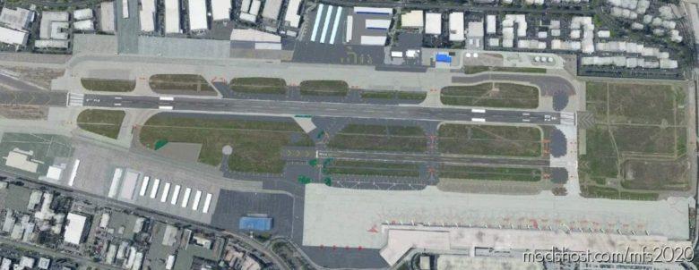 John Wayne International Airport, Santa ANA CA USA – Ksna for Microsoft Flight Simulator 2020