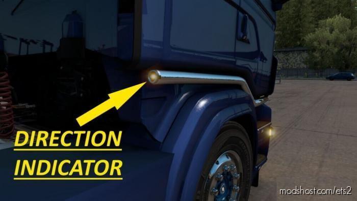 Bull BAR + Slot Scania RJL for Euro Truck Simulator 2