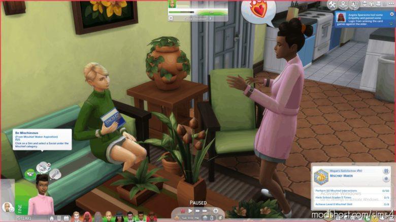 Simmerjohn's Teen Aspirations for The Sims 4